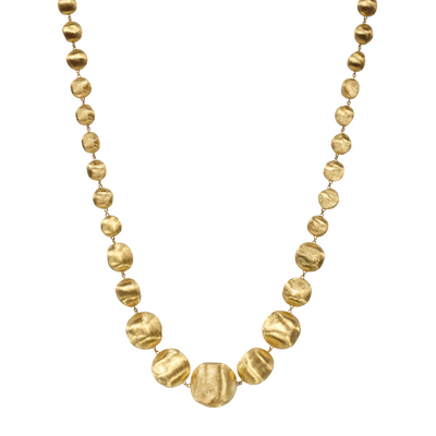 18K Yellow Gold Africa Collection Collar Necklace