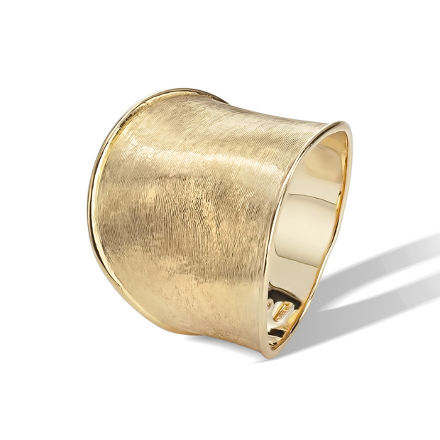 18K Yellow Gold Lunaria Ring