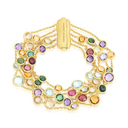 18K Yellow Gold Jaipur Collection Mixed Stone Bracelet