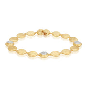 18K Yellow And White Gold Jaipur Collection Diamond Bracelet