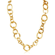 18K Yellow Gold Jaipur Link Collection Necklace