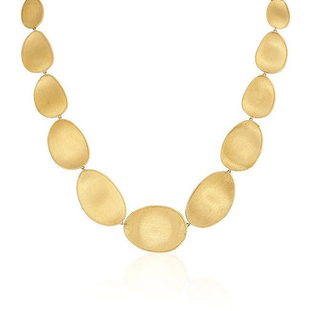 18K Yellow Gold Lunaria Collection Link Necklace