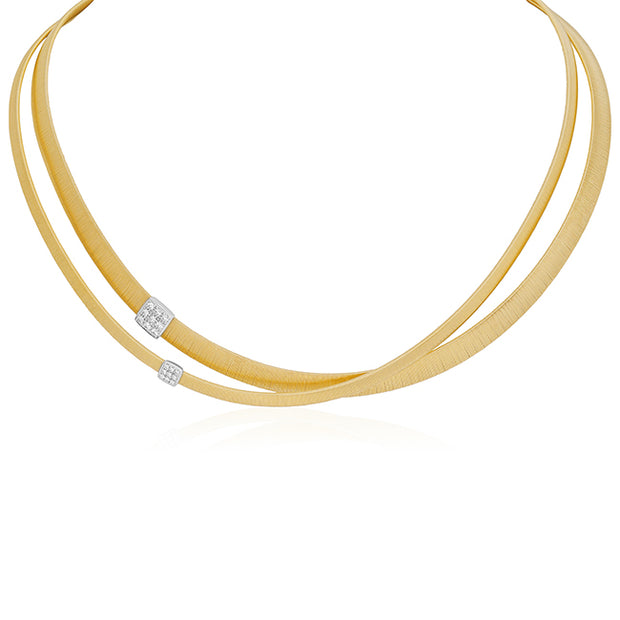 18K Yellow Gold Masai Collection Necklace