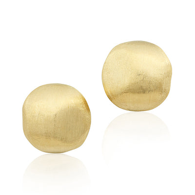 18K Yellow Gold Africa Collection Stud Earrings