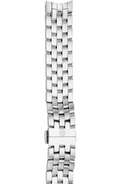 18mm Stainless Steel Belmore 5 Link Watch Bracelet