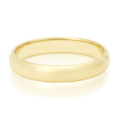 Novell 14K Yellow Gold Band