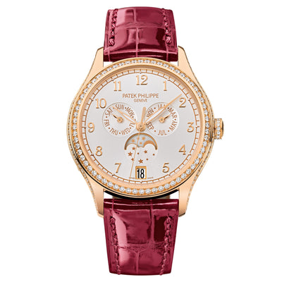 18K Rose Gold Complications Annual Calendar 38mm Watch 4947R-001