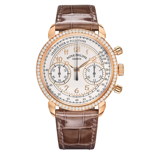 18K Rose Gold Complications Chronograph 38mm Watch 7150/250R-001