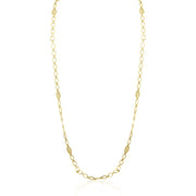 "Penny Preville 18K Yellow Gold 34"" Garland Flower Necklace"