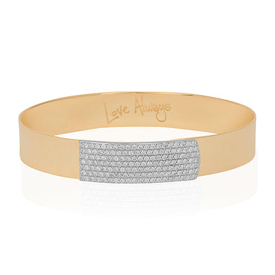 14K Yellow Gold Affair Collection Bracelet with Diamonds