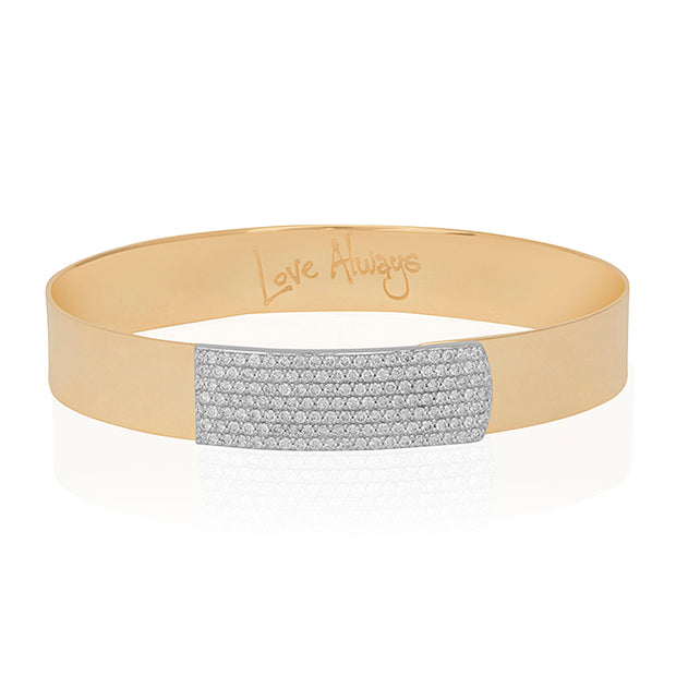Phillips House 14K Yellow Gold Affair Collection Bracelet with Diamonds