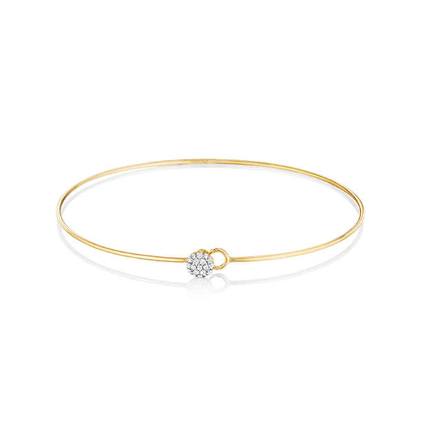 14K Yellow Gold Love Always Collection Bracelet