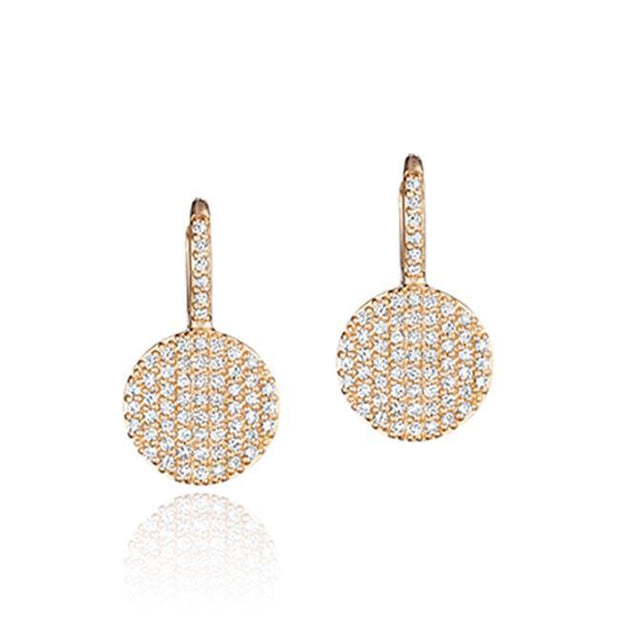 14K Rose Gold Affair Collection Drop Earrings - TIVOL
