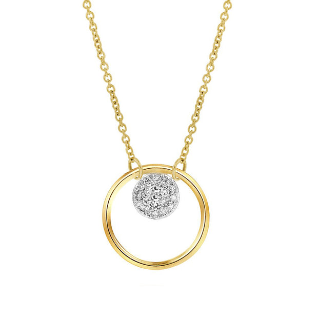 14K Yellow Gold Affair Necklace
