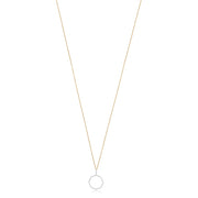 Phillips House 14K Yellow Gold Diamond Necklace