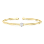 18K Yellow Gold Nobile Collection Bracelet with Diamonds