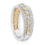TIVOL White Gold Diamond Band