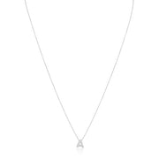 Roberto Coin Diamond Initial Necklace