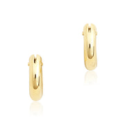 Roberto Coin 18K Yellow Gold Small 4MM Hoop Earrings