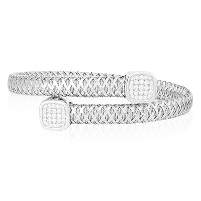 18K Primavera Collection White Gold Bracelet