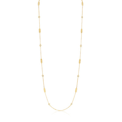 Yellow Gold Barocco Necklace