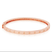 18K Rose Gold Pois Moi Bangle Bracelet