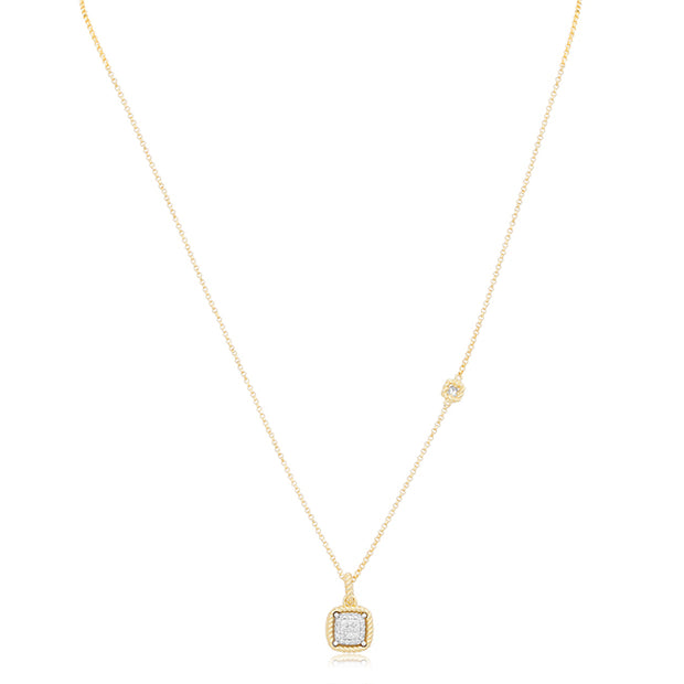 18K Yellow Gold New Barocco Collection Necklace