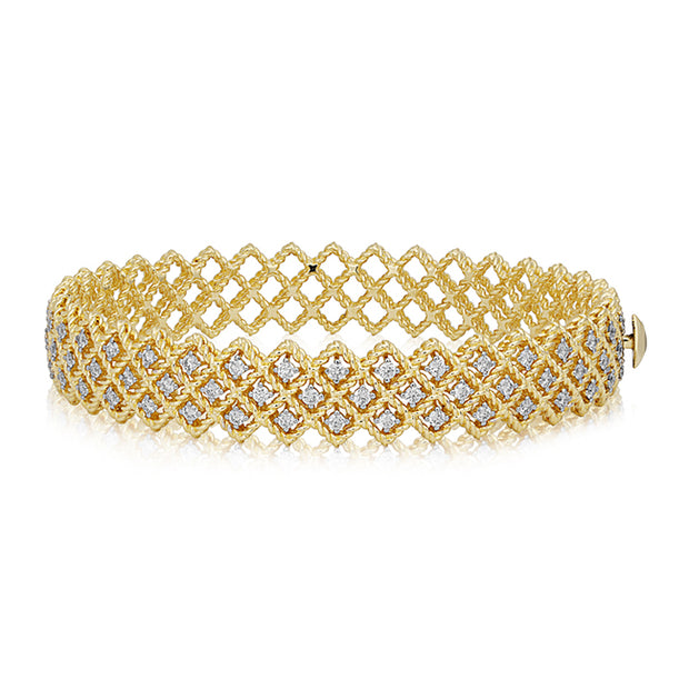 Barocco Collection Yellow Gold Bracelet