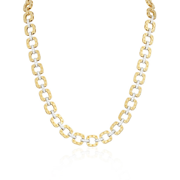 18K Yellow and White Gold Pois Moi Collection Necklace