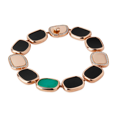 Afrikan Collection Rose Gold Bracelet