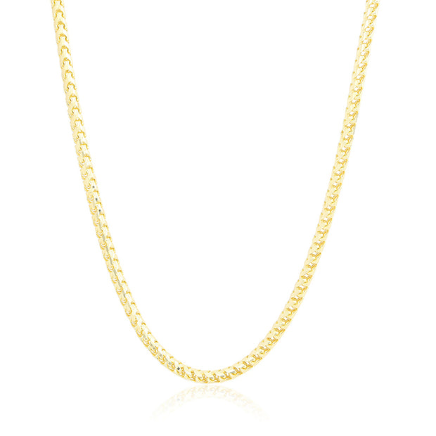 "Tivol 14K Yellow Gold 24"" Chain Necklace"
