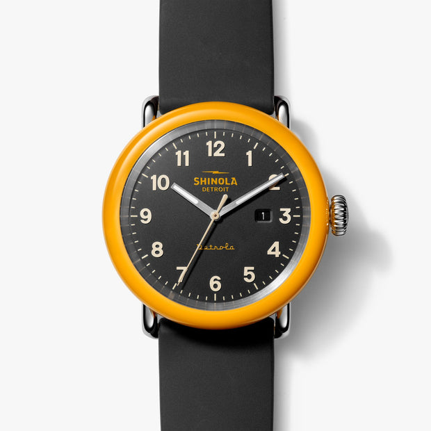 43mm Detrola Number Two Watch