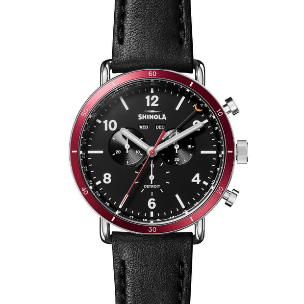 45mm Canfield Sport Chronograph Watch
