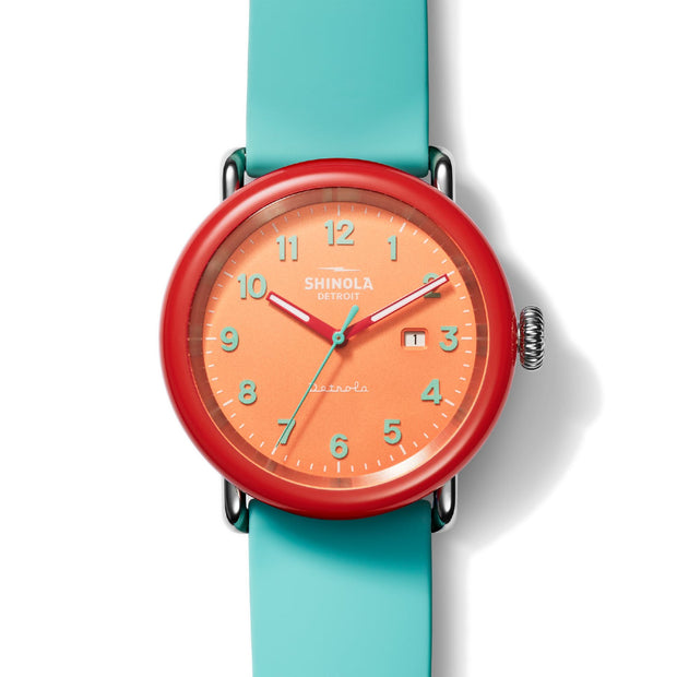 43mm Detrola The Silly Putty Watch