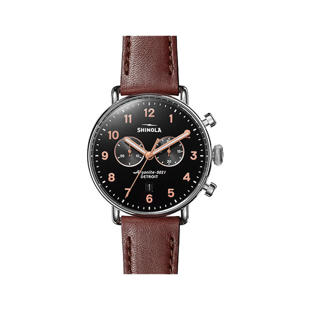 Canfield 43mm Watch