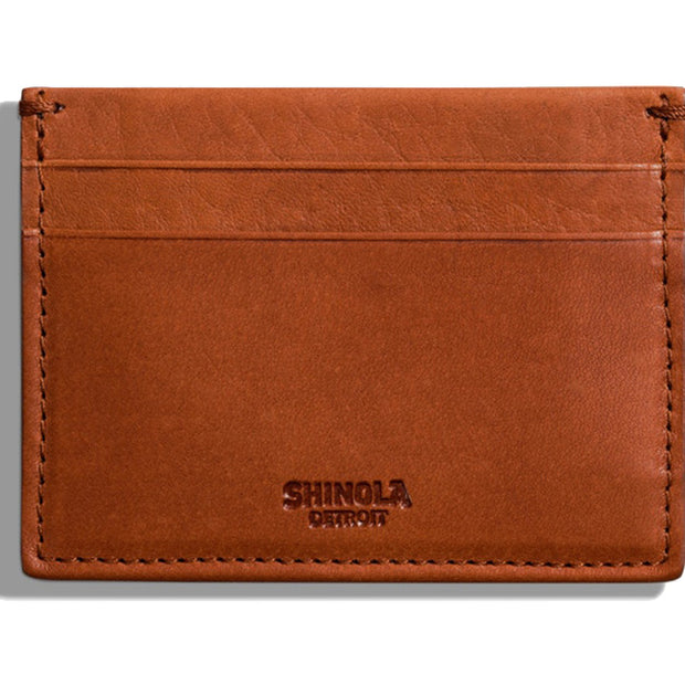 Leather Five-Pocket Card Case