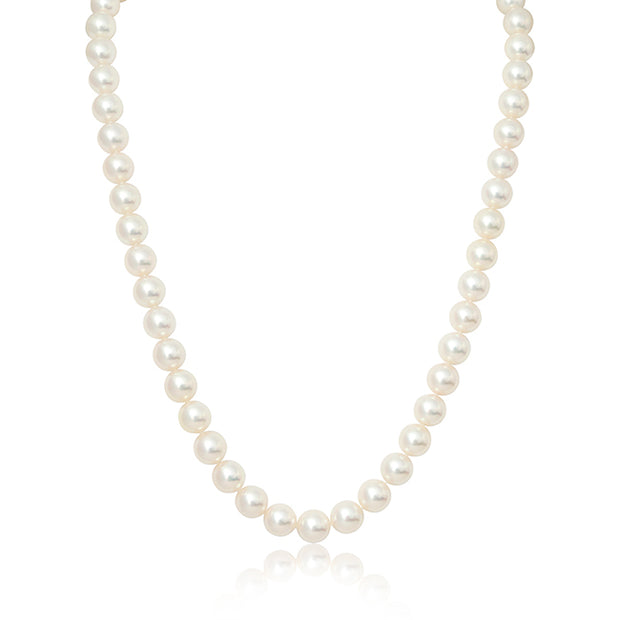 18K Rose Gold and Pearl Necklace