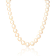 Freshwater Cultured Pearl Necklace with a 14K Yellow Gold Ball Clasp