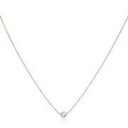 Forevermark 18K Rose Gold Diamond Necklace