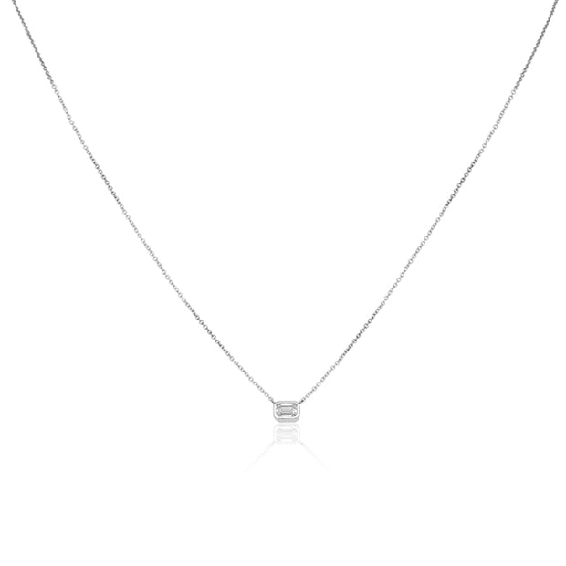 Forevermark 18K White Gold Diamond Necklace