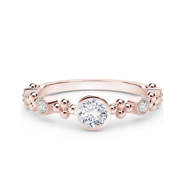 Forevermark 18K Rose Gold Diamond Ring