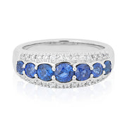 Tivol Sapphire and Diamond Ring