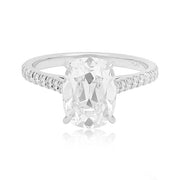 Platinum Engagement Ring with Forevermark Diamond