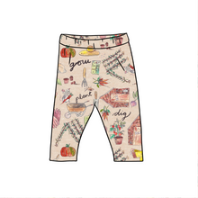 Load image into Gallery viewer, Allotment Fitted Leggings