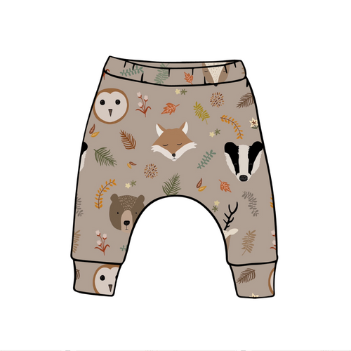 Country Animal Harem Leggings