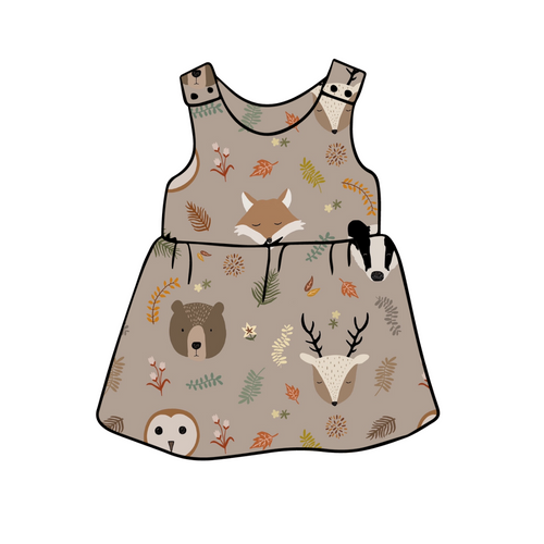 Country Animals Dress