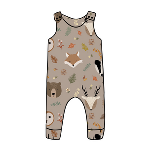 Country Animals Dungarees