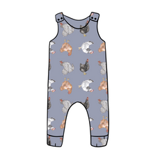Load image into Gallery viewer, Topsey Turvey Hens Dungarees