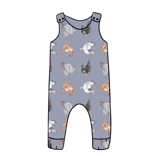 Topsey Turvey Hens Dungarees