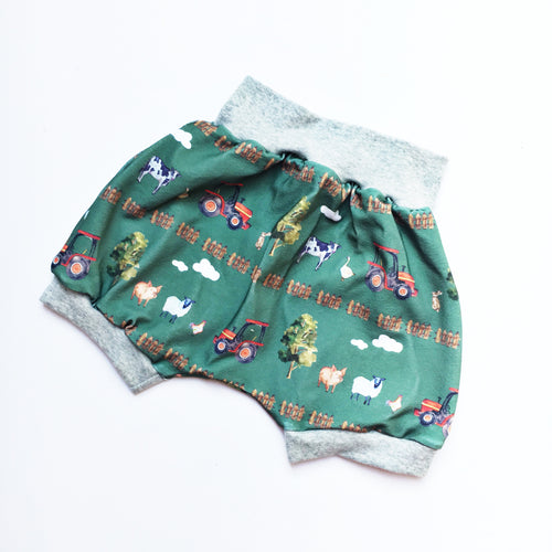 Old MacDonald Harem Shorts